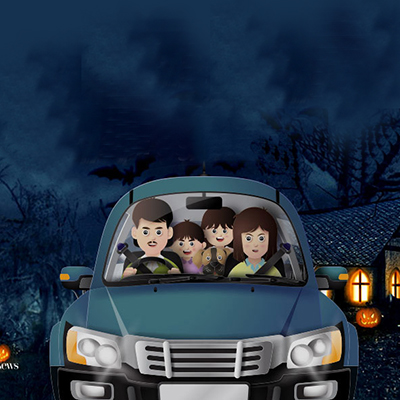 Happy Halloween, a Family Drive-Thru Experience