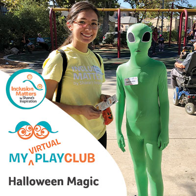 My Virtual PlayClub Halloween Magic with Inclusion Matters by Shane's Inspiration