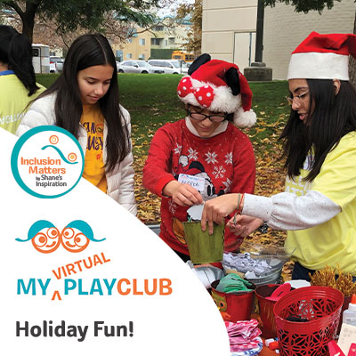 My Virtual PlayClub Holiday Magic with Inclusion Matters by Shane's Inspiration