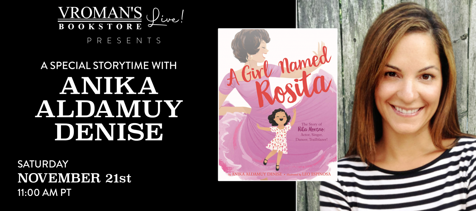 Vroman's Story Time With Anika Aldamuy Denise