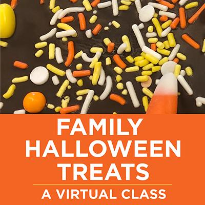 Family Halloween Treats Cooking Class