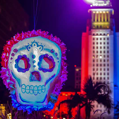 Grand Park's Dia de los Muertos Celebration