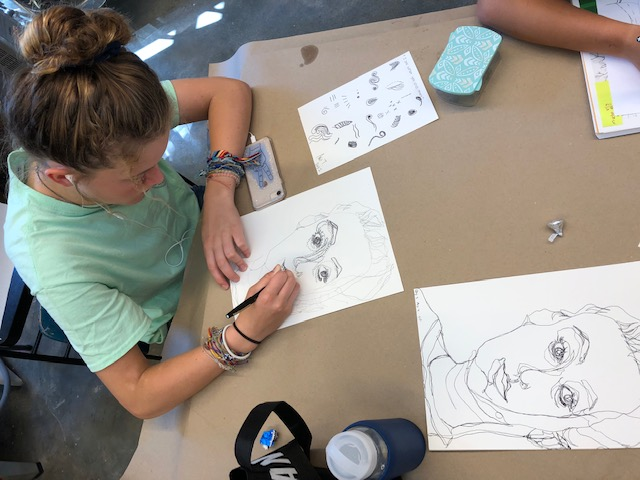 Sketches and More: Art at Home for Teens
