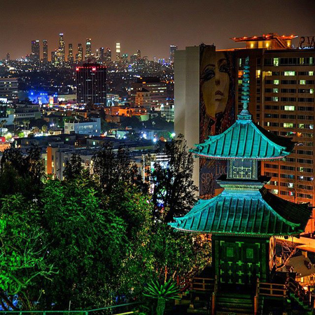 Architecture Spectacular views of Yamashiro Restaurant