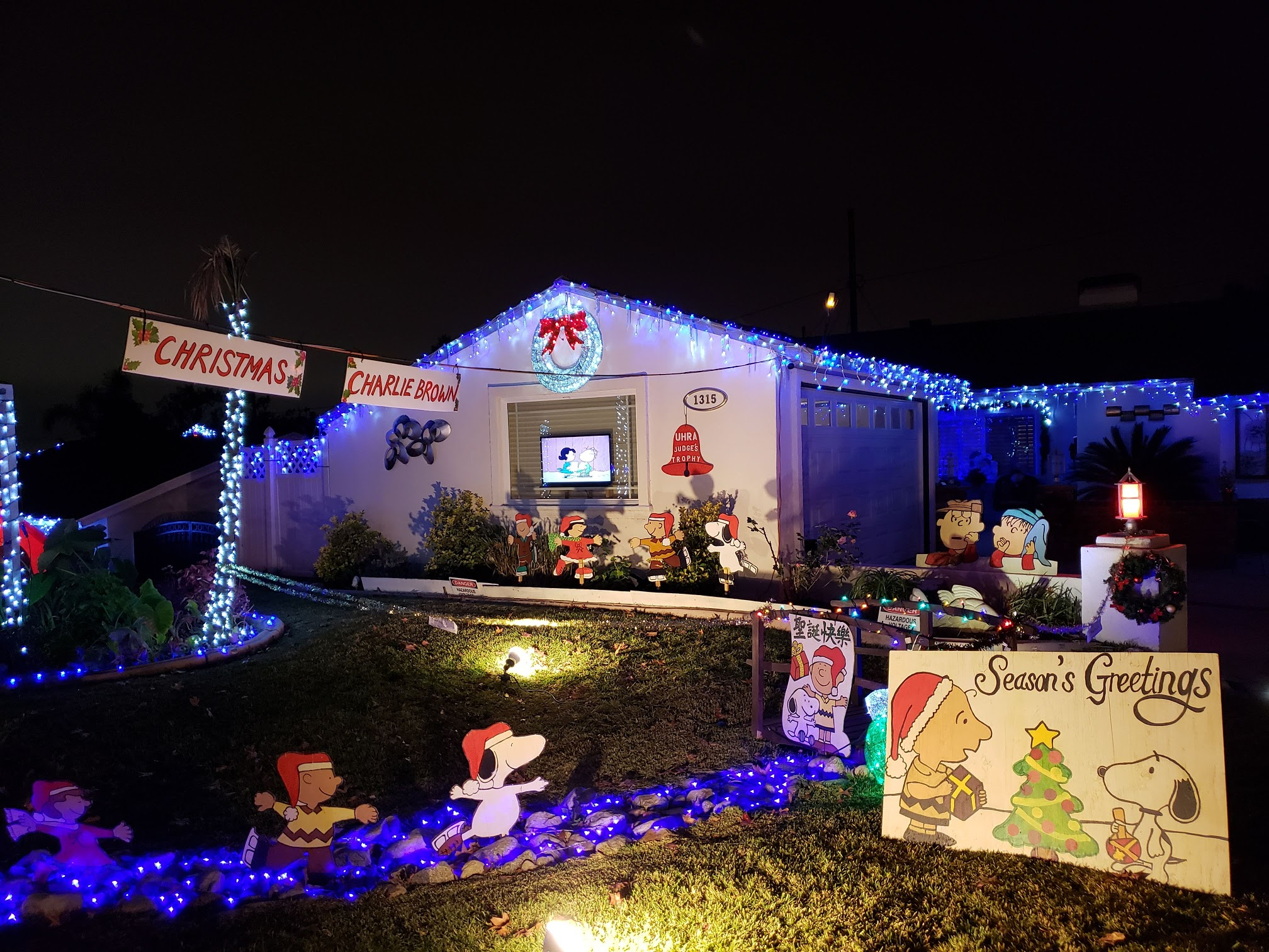 Holiday Light Up with the Upper Hastings Ranch Association