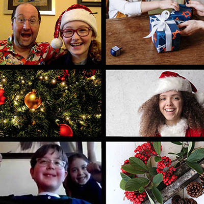 Joy Around the World: The Virtual Holiday Scavenger Hunt for Kids