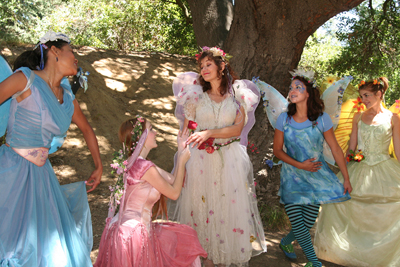 A Faery Hunt Show and Valentine Fairy Party
