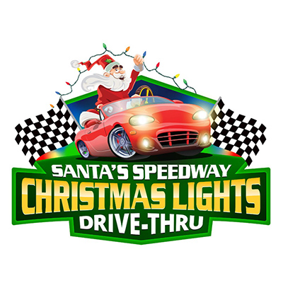 Santa's Speedway Christmas Lights Drive-Thru
