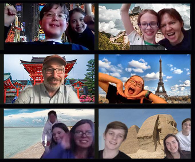 Watson Adventures' Around the World Virtual Family Scavenger Hunt