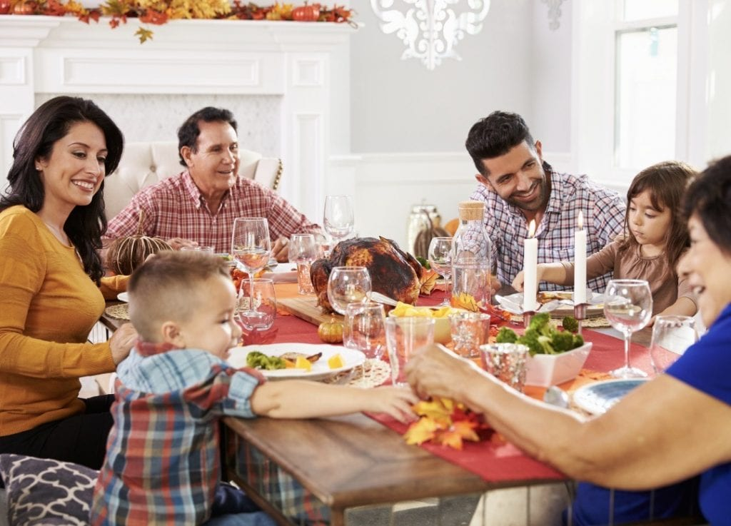 Thanksgiving self-care