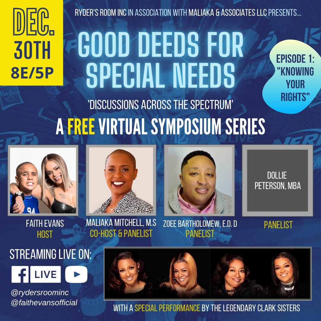 Good Deed for Special Needs: Discussions Across the Spectrum Virtual Symposium
