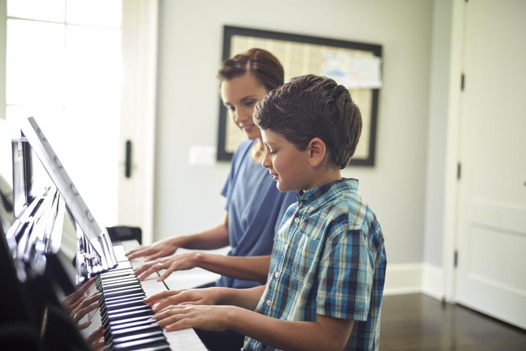 beginning piano