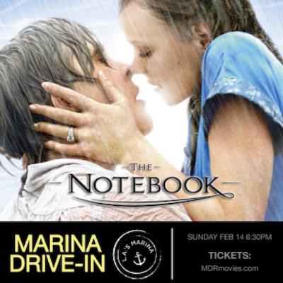 'The Notebook' at the Marina Drive-In