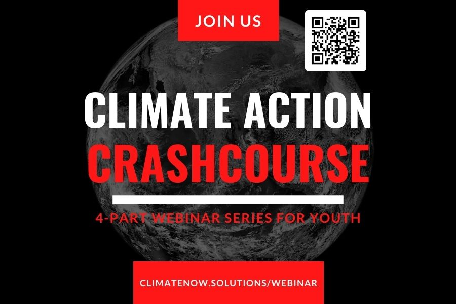 Climate Action Crash Course Webinar Ages Under 10