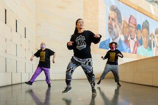 Moving Through--House Dance:  Dance Happens Everywhere