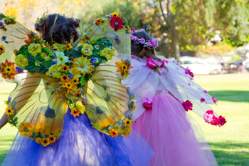A Faery Hunt Show and Zoom Spring Fairy Party!