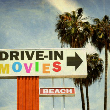 Drive-In Movie marquee