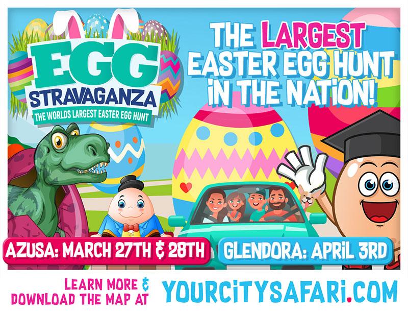 Eggstravaganza Easter Drive-Thru Event