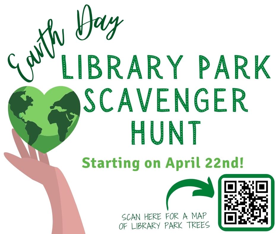 Trees of Library Park Scavenger Hunt