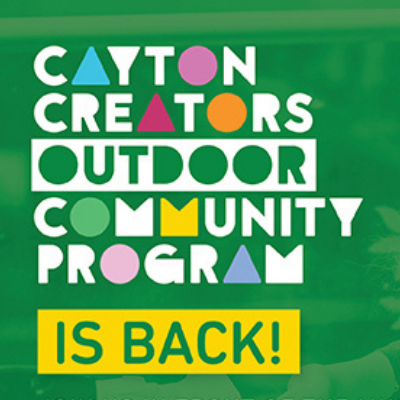Cayton Creators Outdoor Community Program