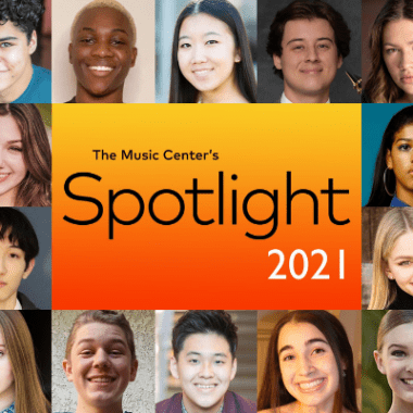 Music Center's Spotlight program