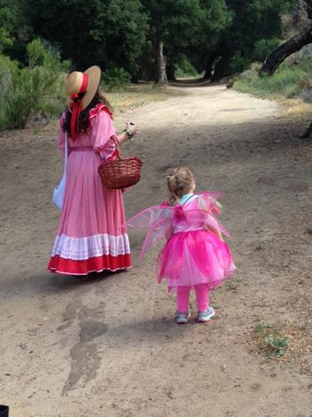 A Faery Hunt Enchantment in Sherwood Forest