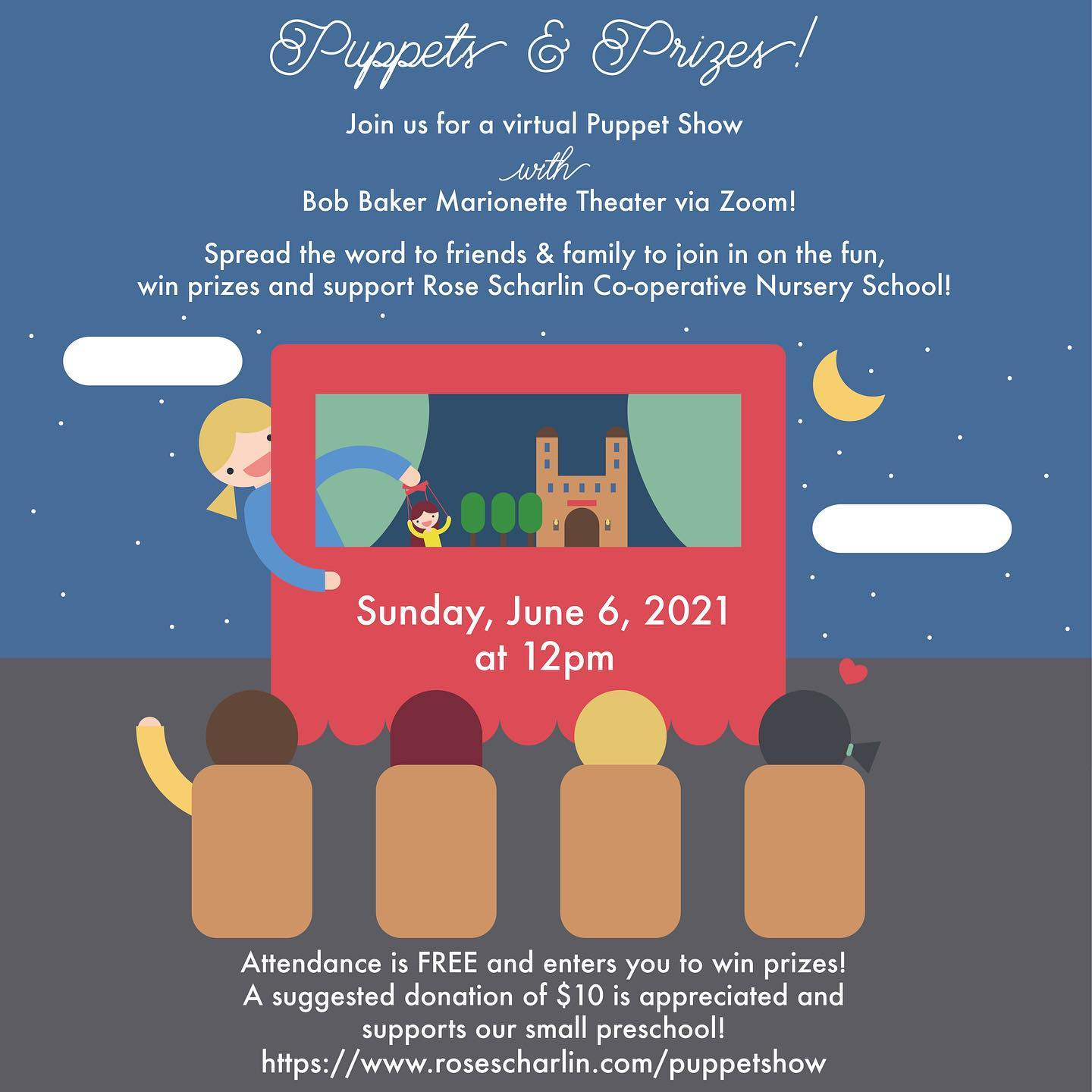 Puppet Show and Chance to Win Disney Tickets