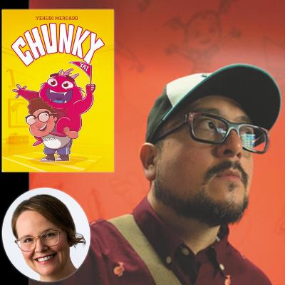 Yehudi Mercado in conversation with Raina Telgemeier discuss Chunky