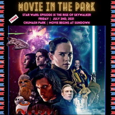 Movie in the Park: Star Wars: The Rise of Skywalker