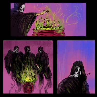 William Shakespeare's Macbeth: A Virtual Live-Action Graphic Novel