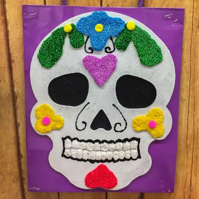 Día de los Muertos High School and College Art Contest