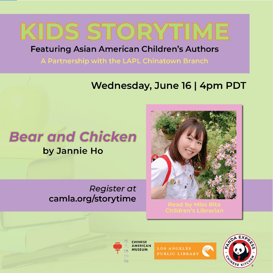 Kid's Story Time Featuring Asian American Children's Authors