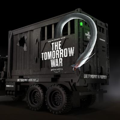 Amazon Prime Video White Spike Alien Invasion for The Tomorrow War