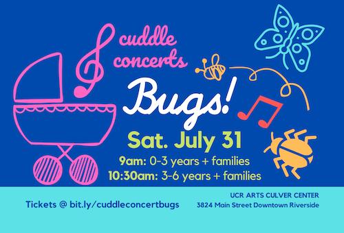 POSTPONED Cuddle Concert Bugs