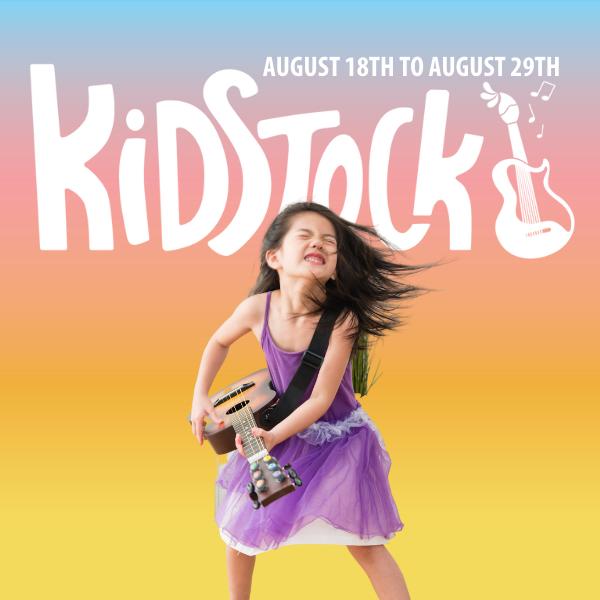 Kidstock Family Friendly Music & Arts Festival
