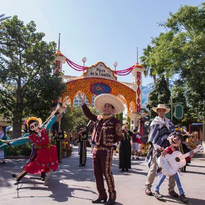 Plaza de la Familia at Disneyland California Adventure