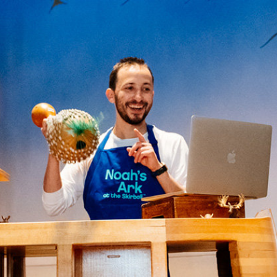 Virtual Story Time—Live from Noah's Ark