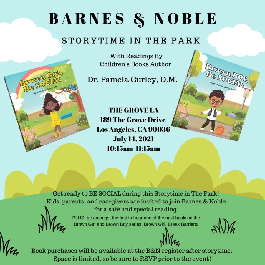 Storytime in the Park: Brown Girl And Brown Boy