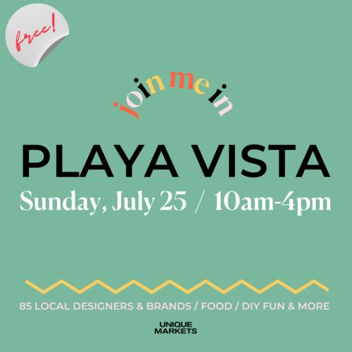 Playa Vista Street Fair