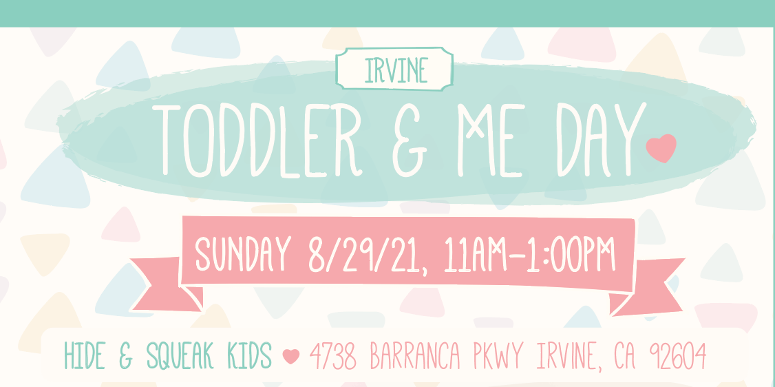 Toddler & Me Day