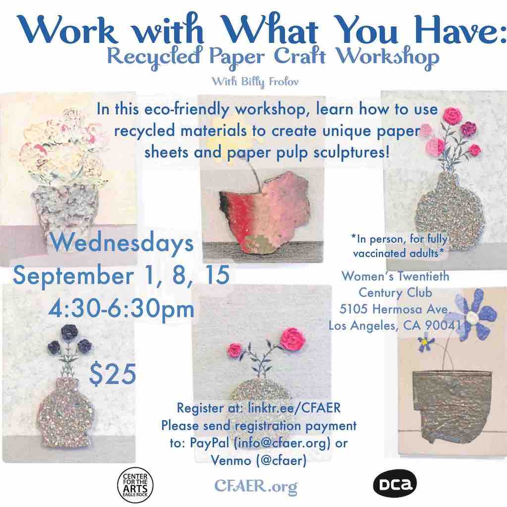 Work with What You Have: Recycled Paper Craft Workshop