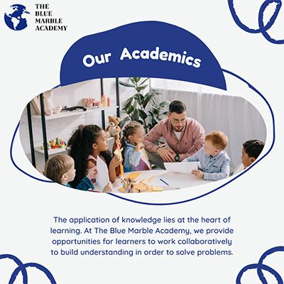 The Blue Marble Academy Inc.