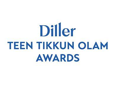 2021 Diller Teen Tikkun Olam Awards Virtual Celebration