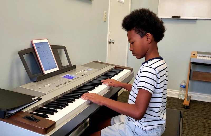 Introductory Piano Session