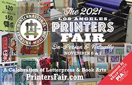 The Los Angeles Printers Fair