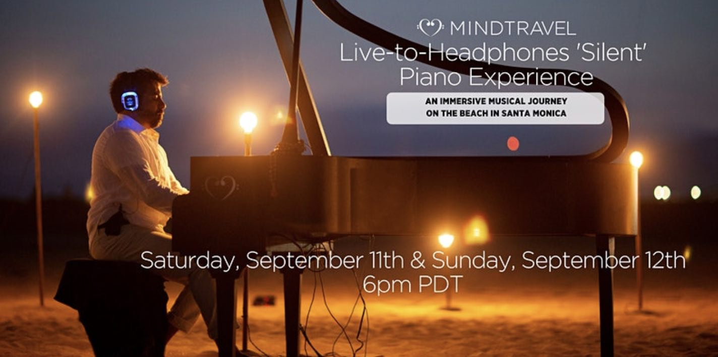 MindTravel Live-to-Headphones 'Silent' Piano Experience