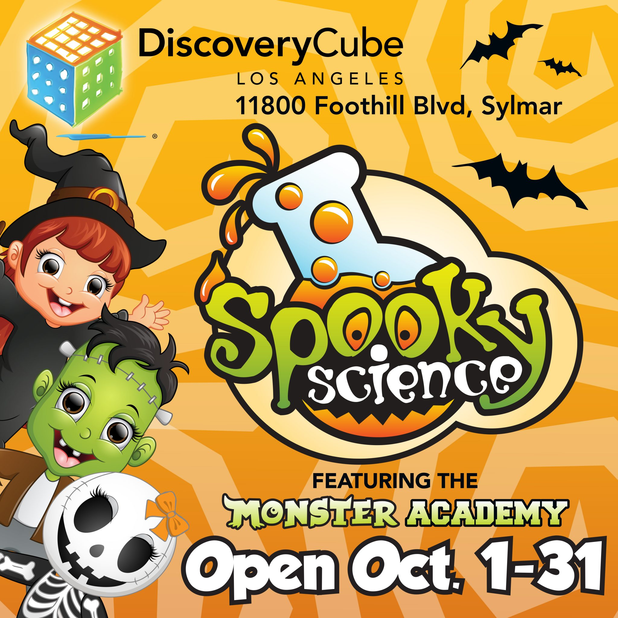 Spooky Science Featuring the Monster Academy